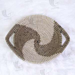 Seagrass Wall Hanging Plate sku C00234