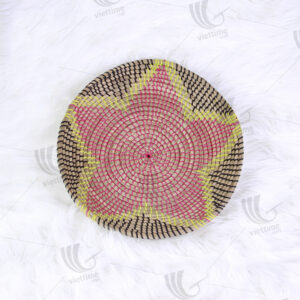 Seagrass Wall Hanging Plate sku C00231