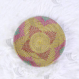 Seagrass Wall Hanging Plate sku C00230
