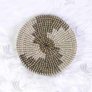 Seagrass Wall Hanging Plate sku C00232