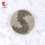 Vintage Seagrass Hand-Woven Plate