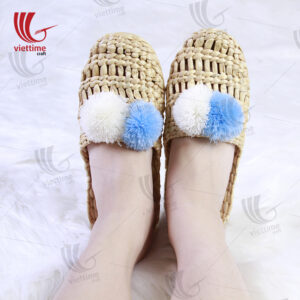 Unique Light Water Hyacinth Sandals