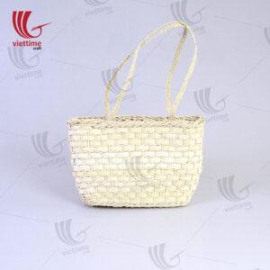 Beautiful Square Palm Leaf Handbags