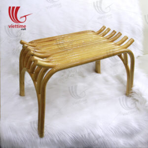Neatness, simplicity is no less subtle is what you can feel when you admire the furniture made of rattan, bamboo, raw materials are very normal but also do not reduce the hot The current.