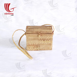 Newest Vintage Handmade Rattan Bag