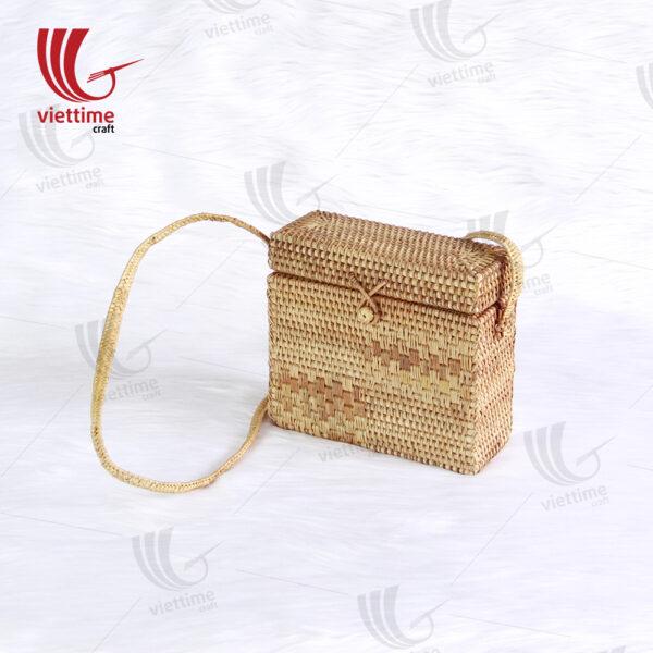 Newest Vintage Handmade Rattan Bag