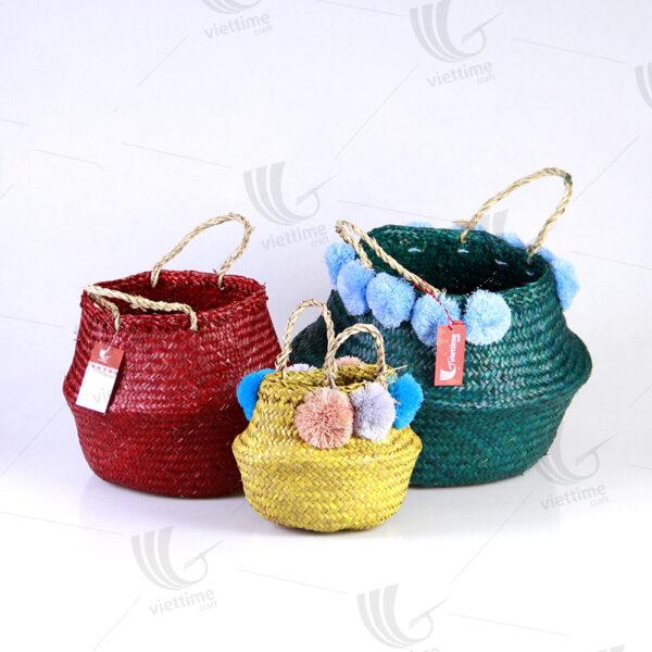 Seagrass Belly Basket sku C00250