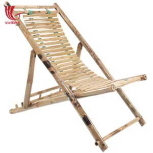 Popular Bamboo Chair On Beach