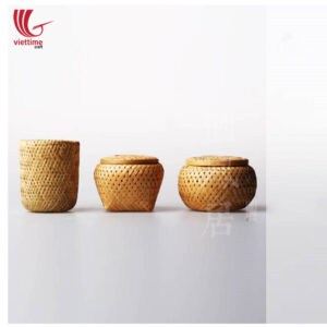 Weaving Bamboo Storage Basket Set Of 3