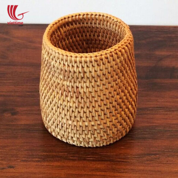 Rattan Chopsticks Tube Set Of 3