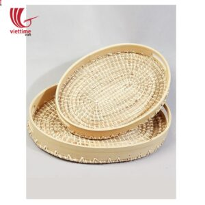 Seagrass Plastic String Tray For Serving