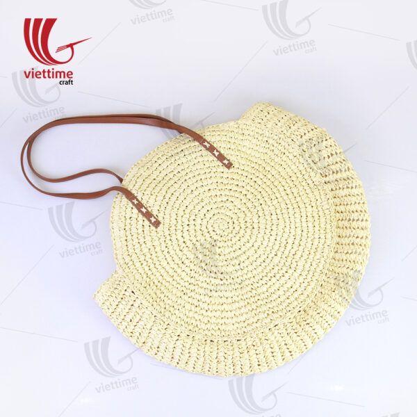 White Round Paper Bag For Women Wholesale