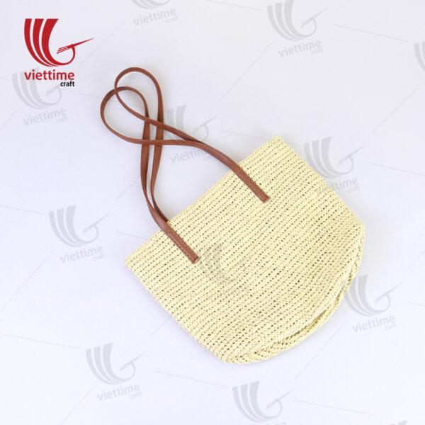 White Paper Bag For Women Wholesale