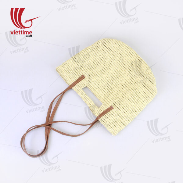 White Paper Bag For Women Wholesale