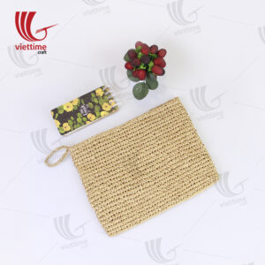 Hot Sale Paper Straw Lady Wallet