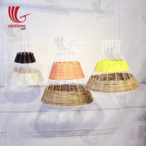 Nice Rattan Lampshades Set Of 3 Wholesale