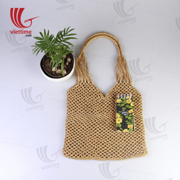 Unique Brown Paper Bag For Women Wholesale