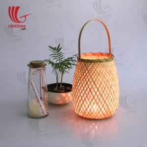 Natural Weaving Bamboo Lantern Wholesale