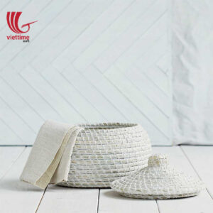 Small Seagrass Basket Without Handle