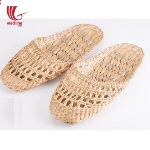 Slippers Woven From Water Hyacinth