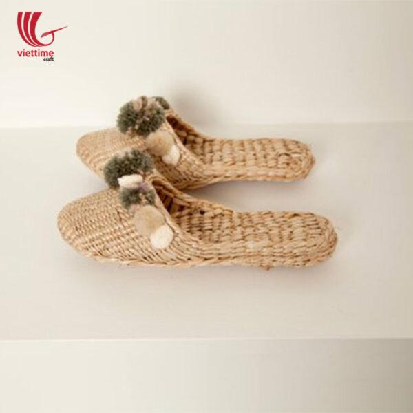 Water Hyacinth Slipper Made In Vietnam