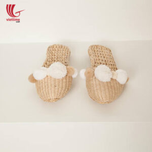 Water Hyacinth Slipper Made In Vietnam