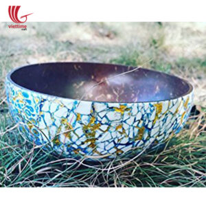 EggShell Inlaid Outside Coconut Bowls