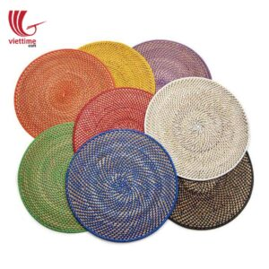 Colorful Rattan Placemat For Meal Decoration