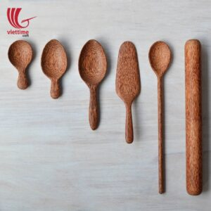 Natural Coconut Spoons For Safe Food