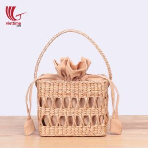 Water Hyacinth HandBag With Inside Cloth
