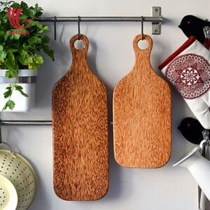 Coconut Wood Cutting Serving Board Wholesale