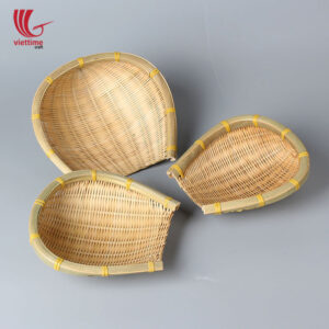 Unique Weaving Bamboo Food Tray Wholesale