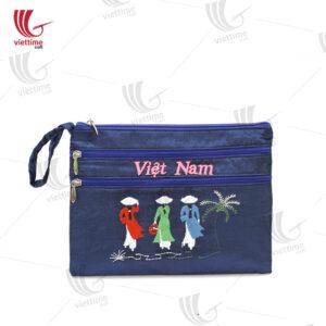 Vietnam Vintage Brocade Clutch Bag Wholesale