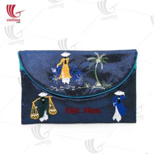 Vietnamese Gift Brocade Women Clutch Bag