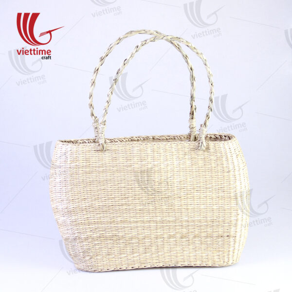 Natural Fashion Seagrass Tote HandBag Wholesale