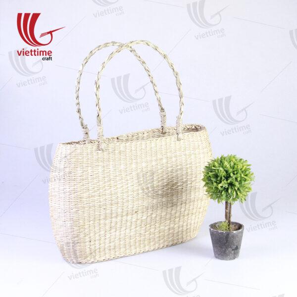 Natural Fashion Seagrass Tote HandBag Wholesale