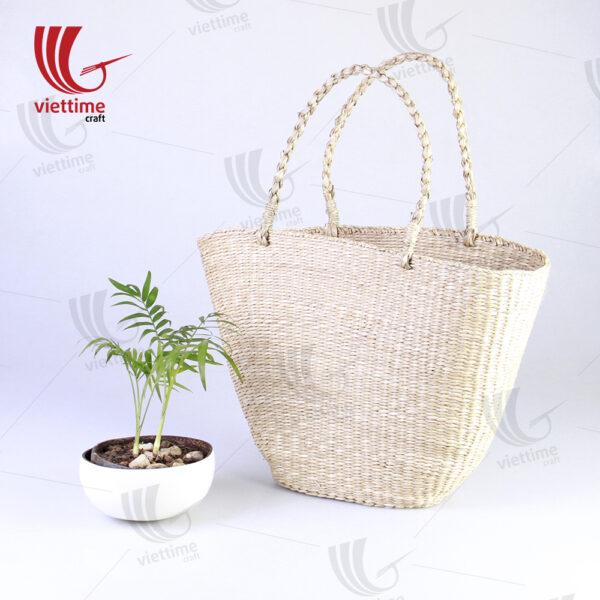 Natural Large Seagrass HandBag Wholesale