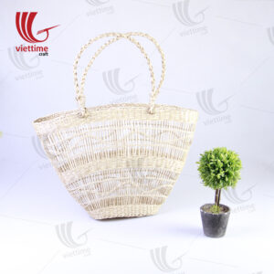 A Beautiful Natural Ladies Seagrass HandBag