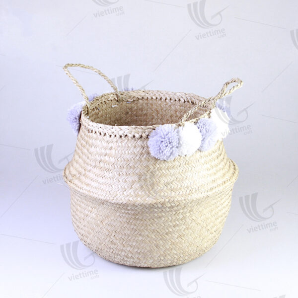 Seagrass Belly Basket sku C00363