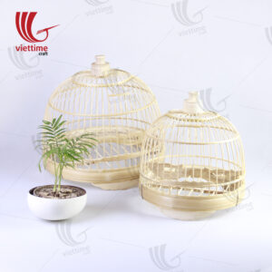 Large Traditional Bamboo Vietnamese Bird Cage