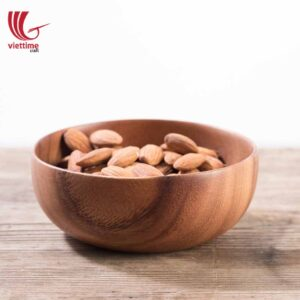 Natural Wooden Bowl For Your Safe Meal