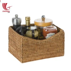 Weaving Rattan Multifunction Storage Basket