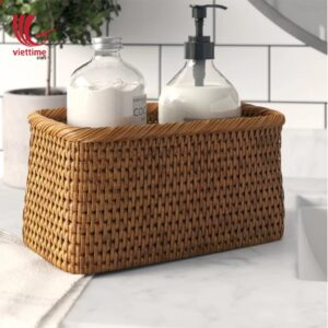 Rectangular Rattan Utility Storage Baskets