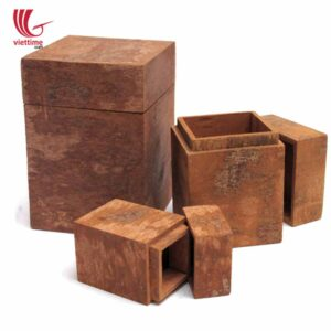 Aromatic Square Cinnamon Bark Storage Box