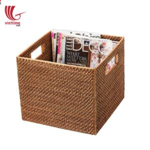 Winsome Square Rattan Baskets Wholesale