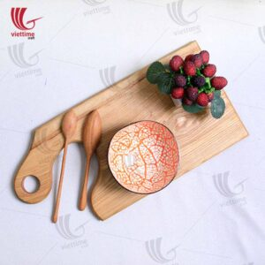 Nice Wooden Cutting Serving Board With Handle