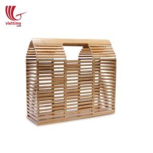 Fashion Women Travel Bamboo Clutch Bag