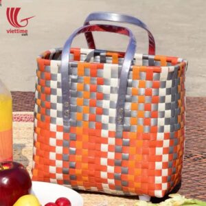 Useful Plastic Shopping Basket Bag For Women