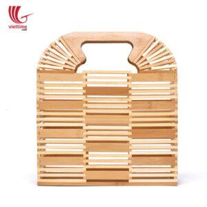 Beautiful Women Famous Bamboo Clutch Bag