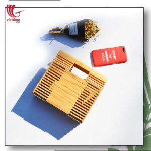 Designer Summer Bamboo Clutch Bag For Women